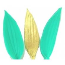 Molde de Silicone Frisador/marcador de nervuras da Folha da flor Lírio 2 peças