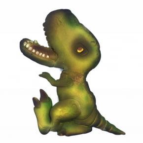 Molde de silicone em formato de dinossauro rex. Ideal para ser utilizado com pasta americana.