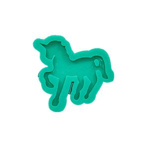 Molde de Silicone em formato de unicórnio. Ideal para utilizar com Pasta Americana.
