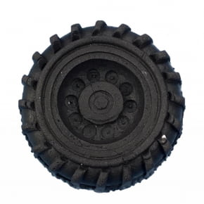 Molde de Silicone com formato de roda grande
