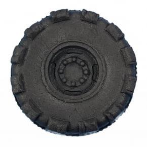 Molde de Silicone com formato de roda média