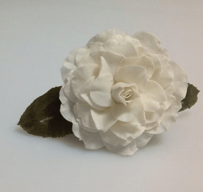 Molde de Silicone Frisador/Marcador de nervuras da flor Camélia