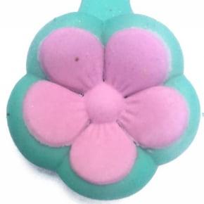 Molde de Silicone Frisador/Marcador de nervuras de flor, frisador de 2 partes, em forma de Flor Fácil. Ideal para utilizar com Pasta Americana.
