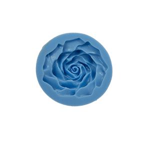 Molde de silicone com forma de Rosa Grande . Ideal para utilizar com Pasta Americana.
