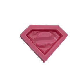 Molde de silicone com Forma do Super Homem  Super heroi Vingadores. Ideal para utilizar com Pasta Americana.