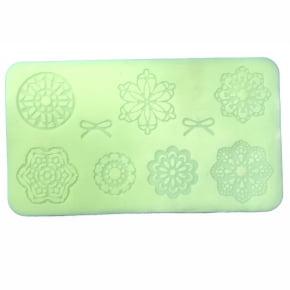Tapete de silicone de Renda Flexível para doces